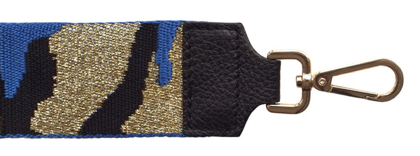 Cobalt and Gold Strap