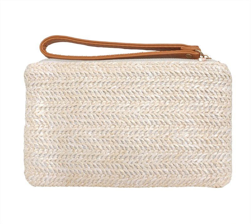 Straw Mini Clutch