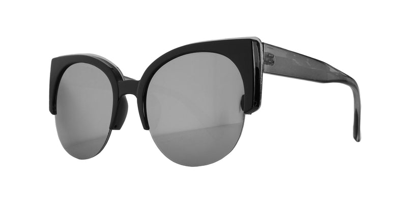 Mirrored Modern Cat Eye Sunglasses