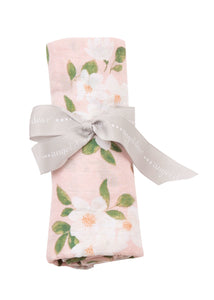 AD Magnolias Swaddle Blanket