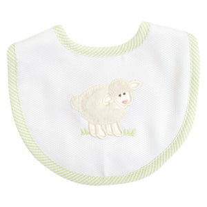 3M Cream Lamb Bib