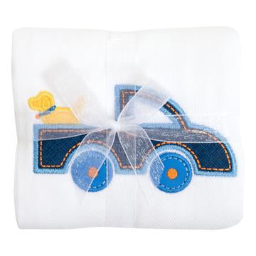 3M Truck Applique Burp Cloth