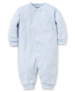 KK Blue Striped Play Suit
