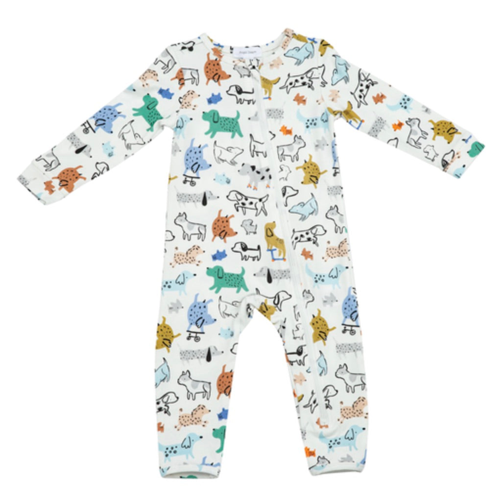 AD Cool Puppies Zipper Romper