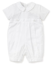 "Load image into Gallery viewer, KK 3 PC Boy White Button Off Gown/Bubble ""Graham"""