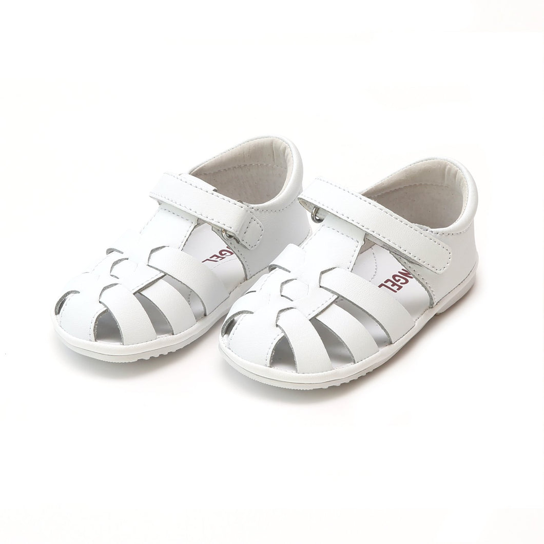 LM White Fisherman Sandal K101