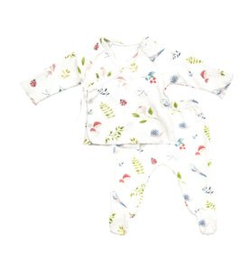 AD 2PC Nature's Notebook Kimono Footie