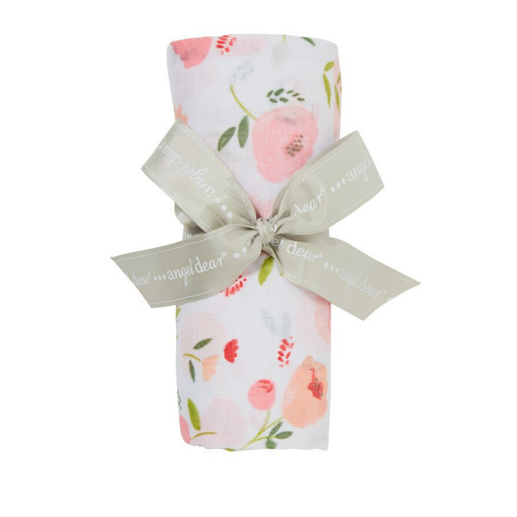 AD Pretty in Pink Swaddle Blanket