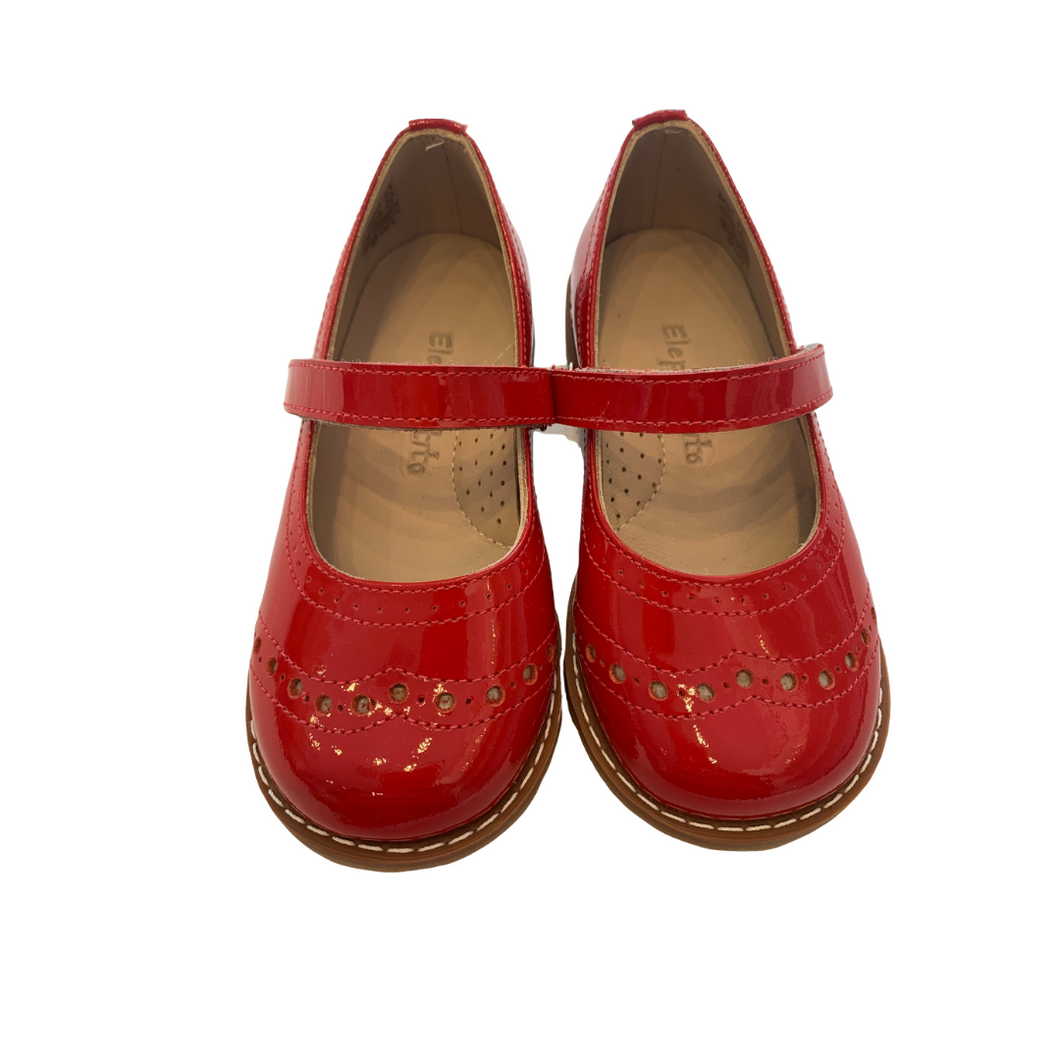 Red Patent Mary Jane
