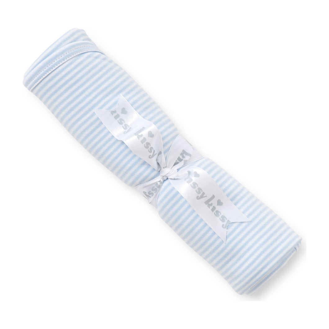 KK Blue Stripe Blanket