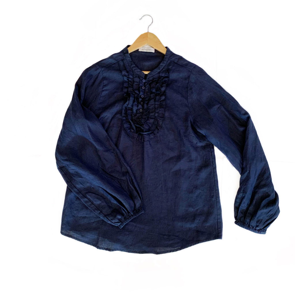 Keira Shirt - Navy