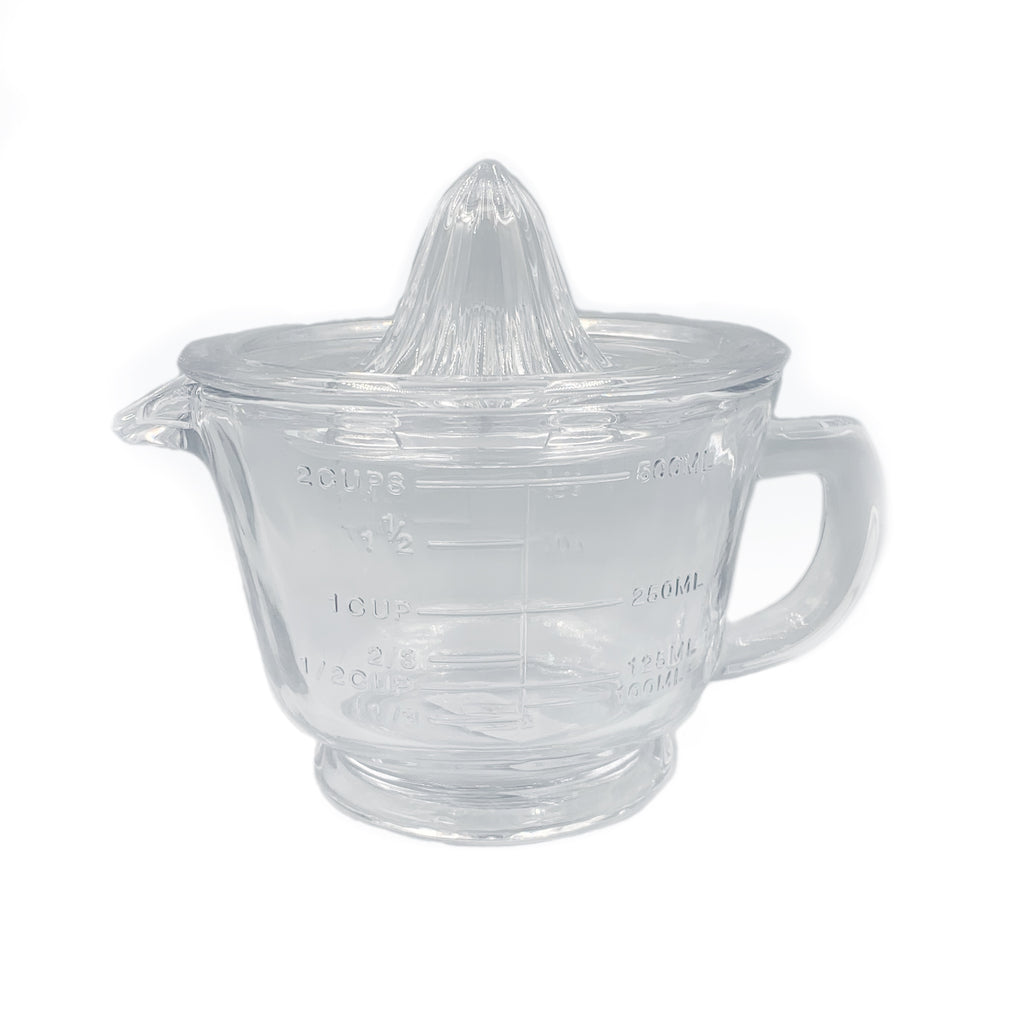 Glass Juicer and Measuring Jug