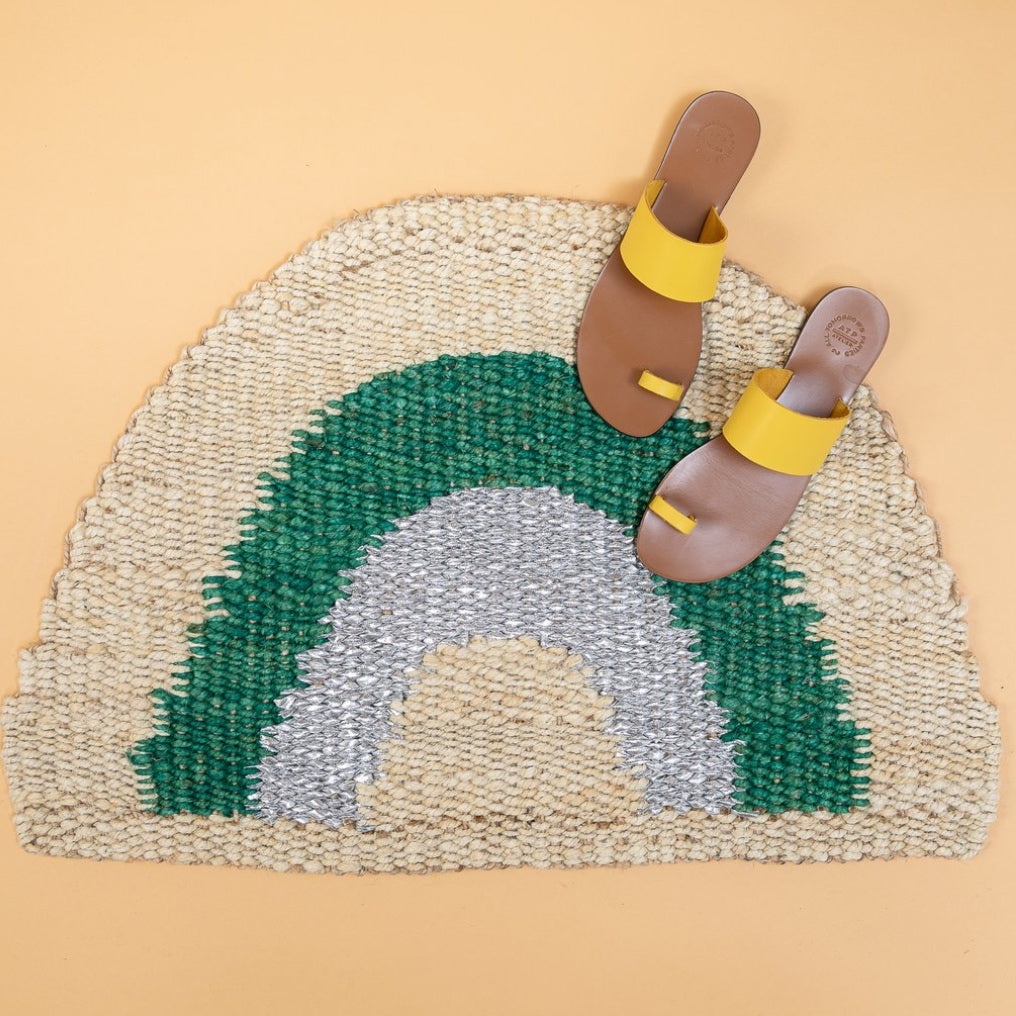 Aquarius Half Round Doormat - Small
