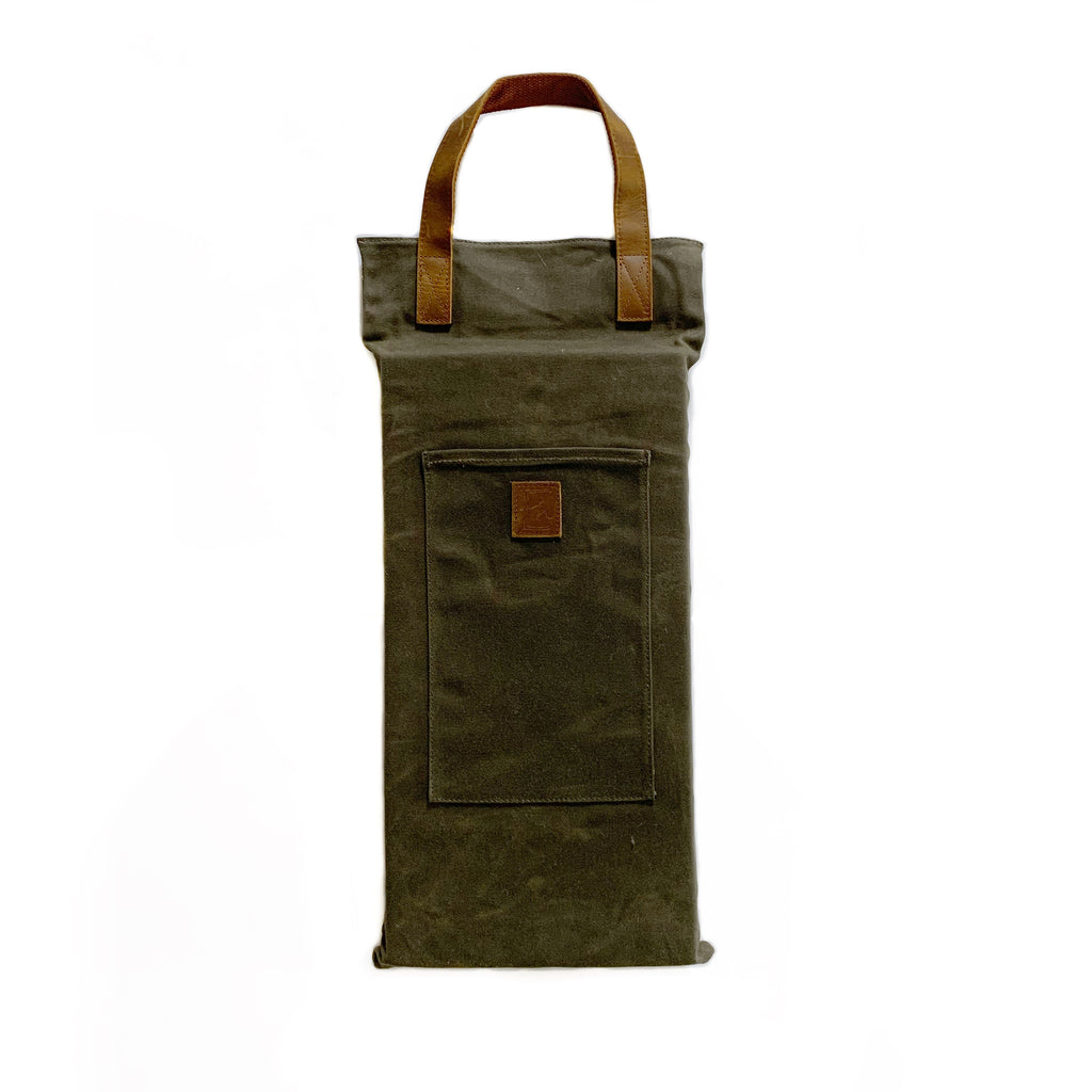 Waxed Canvas Garden Kneeler