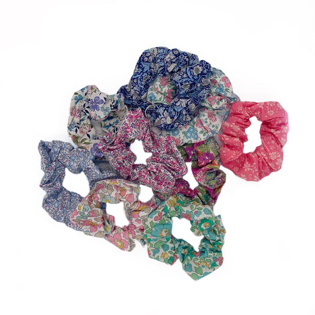 Liberty Print Scrunchies
