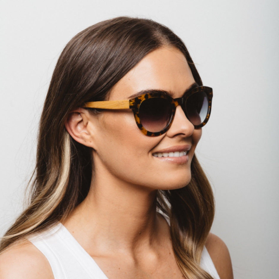 Flight Tortoise Shell Sunglasses