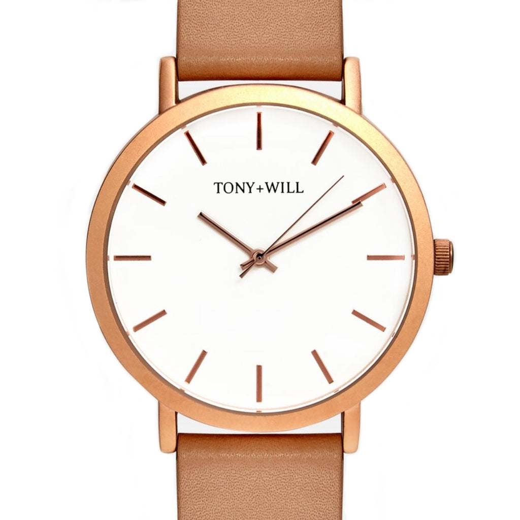Classic Leather Band Watch
