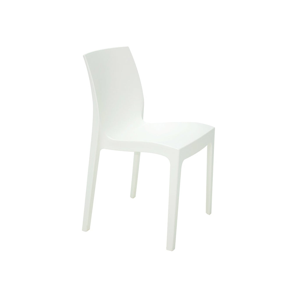 Silla Alice mate blanco