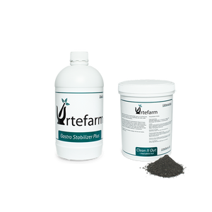 Urtefarm | Clean It Out (500 g) & Gastro Stabilizer Plus (1 liter) | Udrensning og Stabilisering