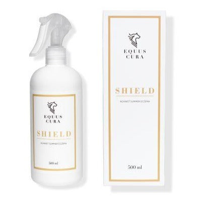 EQUUS CURA | SHIELD mod Sommereksem | 100% Naturlige Ingredienser | 500 ml