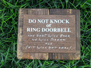 Do Not Knock