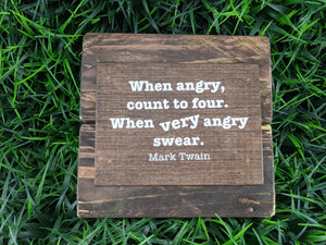 When Angry Swear