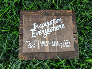 Inspiration Everywhere