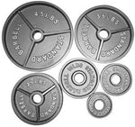 Cast-Iron Olympic Plates (Solid Standard Style)