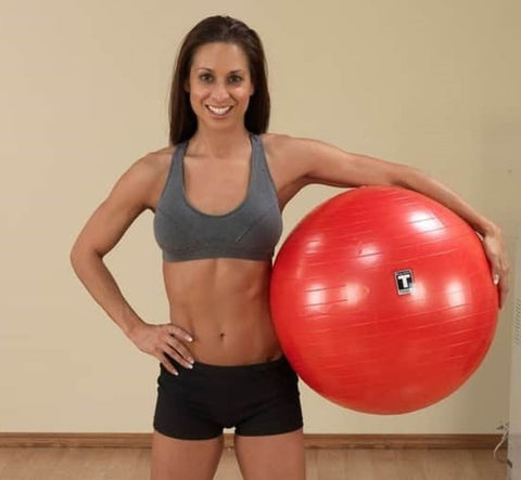 Body Solid Commercial Swiss/Stability Ball & Pump