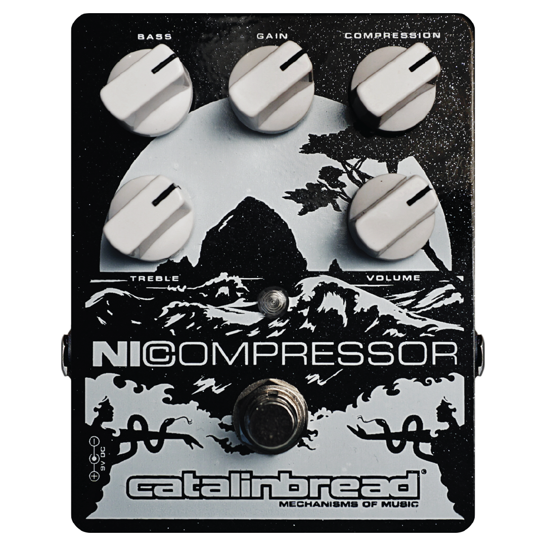 NICOMPRESSOR (Silver & Black)