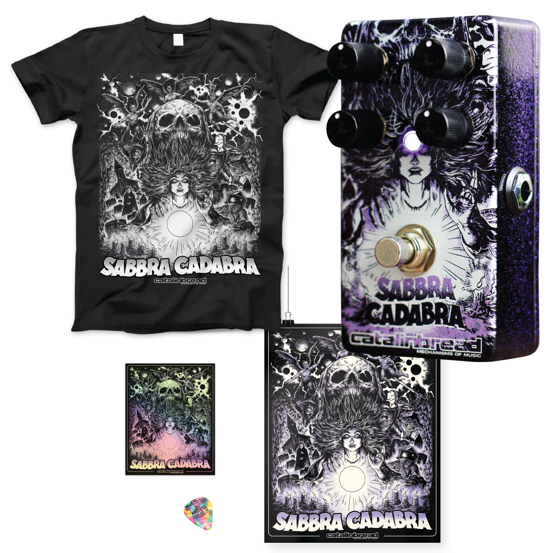 Pedal + Shirt Bundle: Sabbra Cadabra Gallery Series