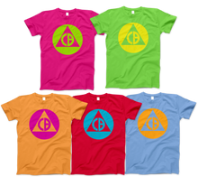 Load image into Gallery viewer, Catalinbread Triangle Logo Shirts