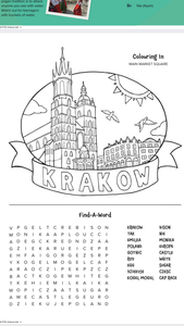 Krakow and Prague - 2 Letters included (US, AU, UK, NZ, CA)