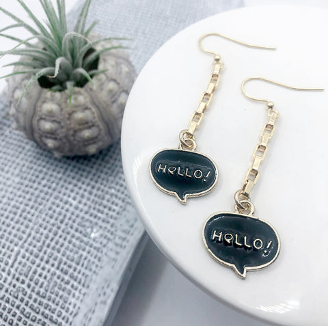 Hello! Hello! Earrings