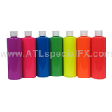 UV Neon Paint - 8 Ounce Individual Bottles