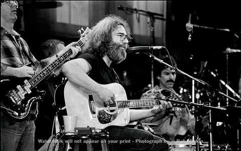 Jerry Garcia and Grateful Dead Radio City Music Hall Photos