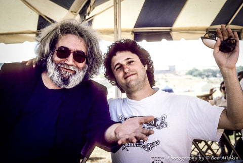 Jerry Garcia and Bob Minkin