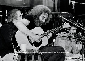 Jerry Garcia - Grateful Dead - Radio City Music Hall, NYC - October 1980 - Bob Minkin Photography
