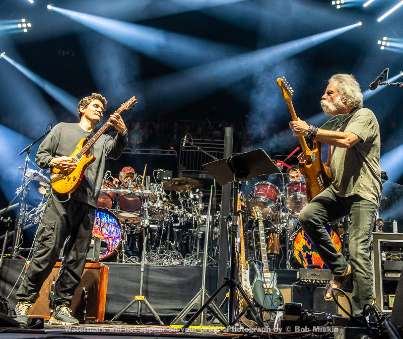 Bob Weir and John Mayer - Dead & Company - The Chase Center, San Francisco, CA - 12.30.19 - Bob Minkin Photography