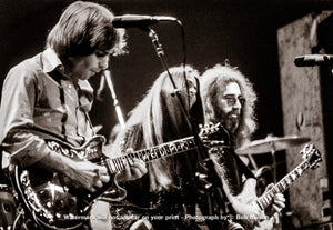 Grateful Dead - Madison Square Garden, New York, NY - 1.8.79 - Bob Minkin Photography