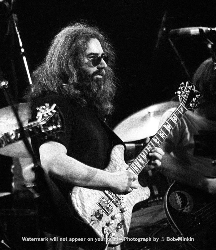 Jerry Garcia - Grateful Dead - Madison Square Garden, New York, NY - 1.8.79 - Bob Minkin Photography