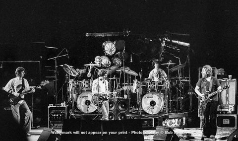Grateful Dead - Red Rocks Amphitheater, Morrison, CO - 7.27.82 - Bob Minkin Photography