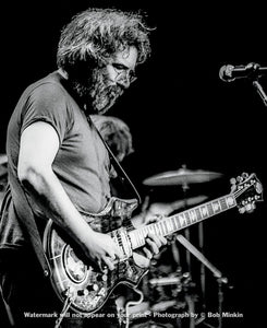 Jerry Garcia – Grateful Dead - Olympia Halle, Munich, Germany - 10.8.81 - Bob Minkin Photography