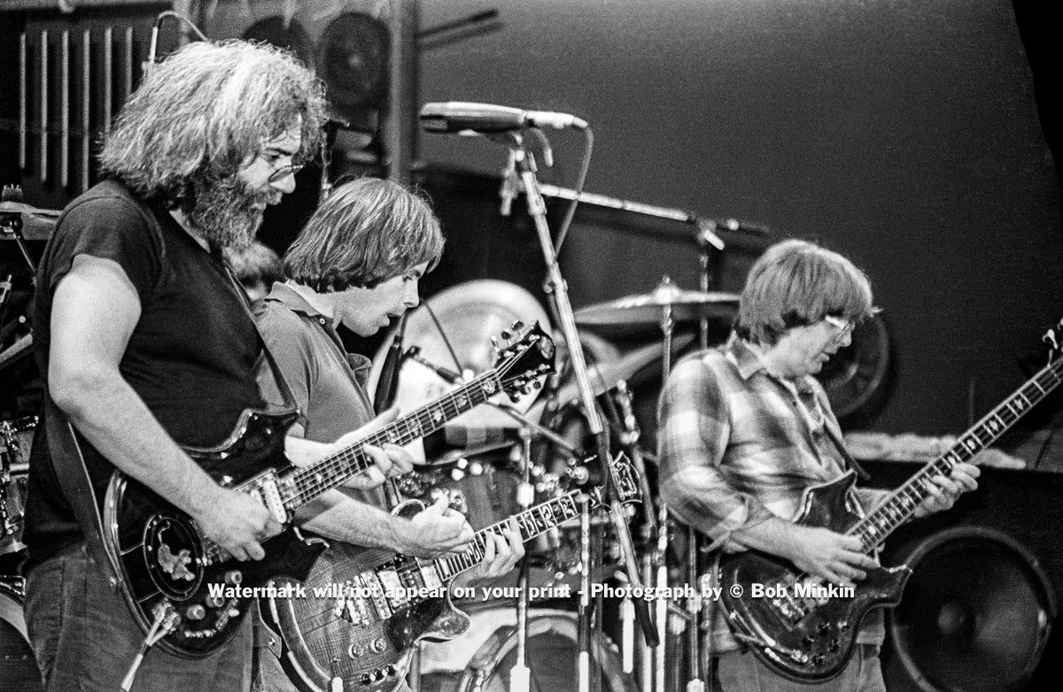Grateful Dead - Radio City Music Hall, NYC - October 1980 - Bob Minkin Photography