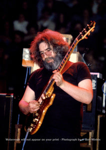 Jerry Garcia – Grateful Dead - Nassau Coliseum - 10.31.79 - Bob Minkin Photography
