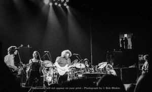 Grateful Dead - Cassell Coliseum, Virginia Polytechnic Institute, Blacksburg, VA - 4.14.78 - Bob Minkin Photography