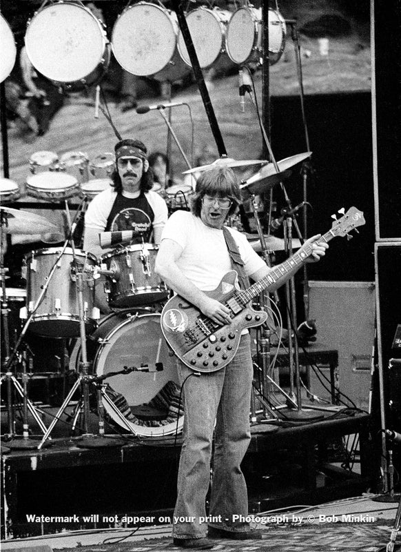 Phil Lesh - Grateful Dead - Red Rocks Amphitheater, Morrison, CO - 8.12.79 - Bob Minkin Photography
