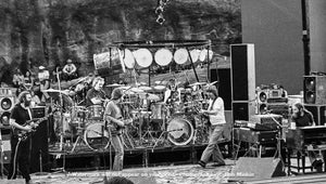 Grateful Dead - Red Rocks Amphitheater, Morrison, CO - 8.12.79 - Bob Minkin Photography
