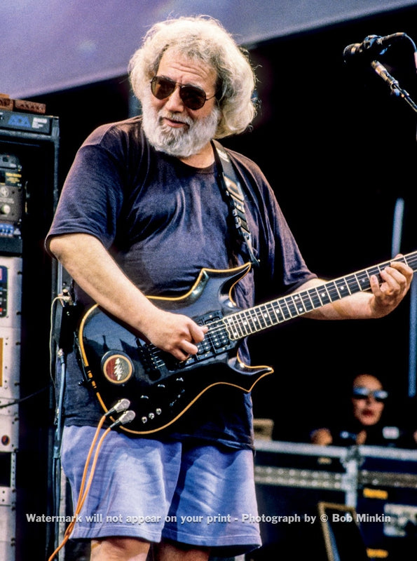 Jerry Garcia - Grateful Dead - Shoreline Amphitheater, Mountain View, CA - 8.25.93 - Bob Minkin Photography