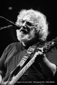 Jerry Garcia – Grateful Dead - Oakland Coliseum, Oakland, CA - 12.11.94 - Bob Minkin Photography